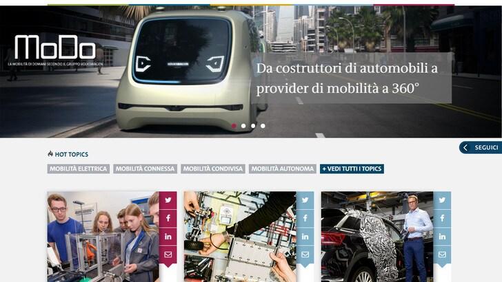 MoDo, Volkswagen mette on line la mobilità di domani