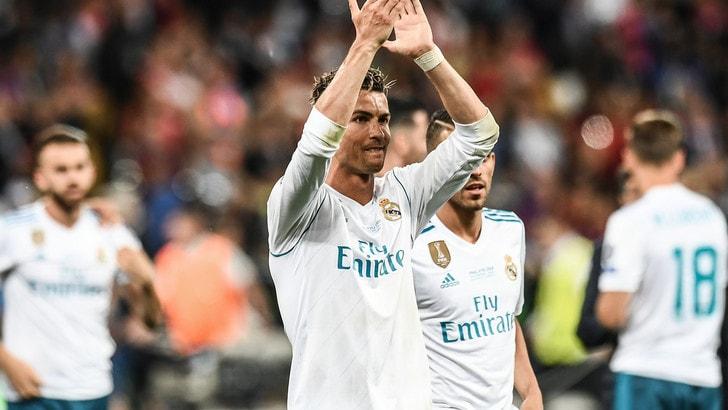 Pallone d'Oro, scende a 1,75 la quota di Ronaldo