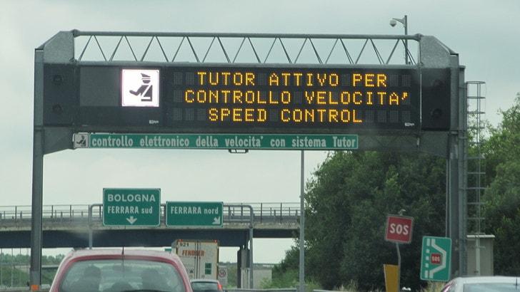 Via i Tutor dalle autostrade, ma arriverà sistema sostitutivo