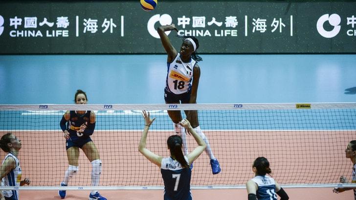 Volley: Volleyball Nations League, L'Italia torna grande e doma la Cina