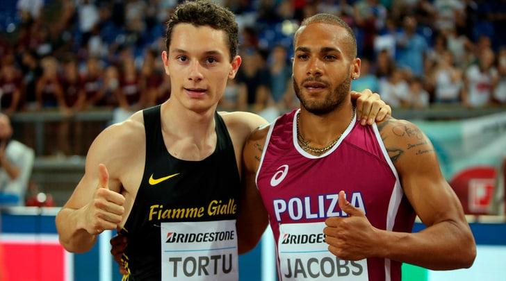 Golden Gala, lampo Tortu: è terzo con 10''04