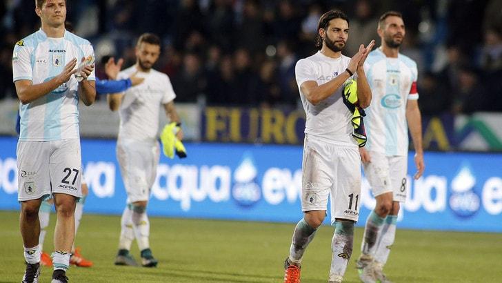Serie B, play off: retrocede l'Entella. Ad Ascoli termina 0-0