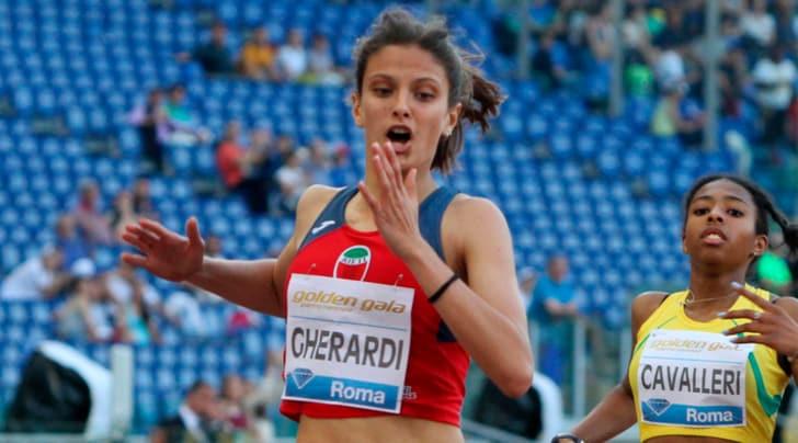 L'Olimpico esalta la piccola Gherardi