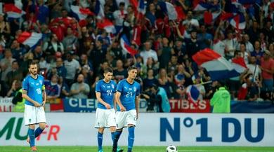 Francia-Italia 3-1 : il cuore non basta ma l'Italia c'è
