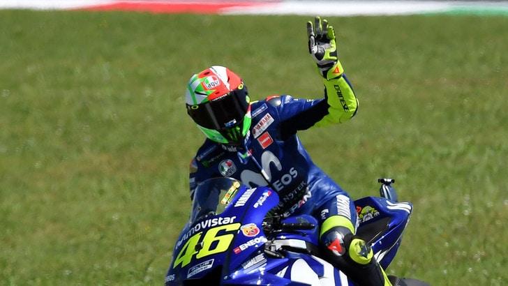 MotoGp Italia, griglia di partenza: Rossi in pole, Lorenzo 2°
