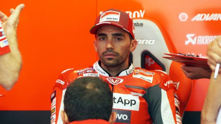 MotoGp Ducati, Pirro: «Sono cose che capitano, io sto bene»