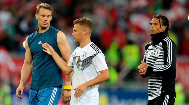 Austria-Germania 2-1: Özil non basta. Neuer torna in campo
