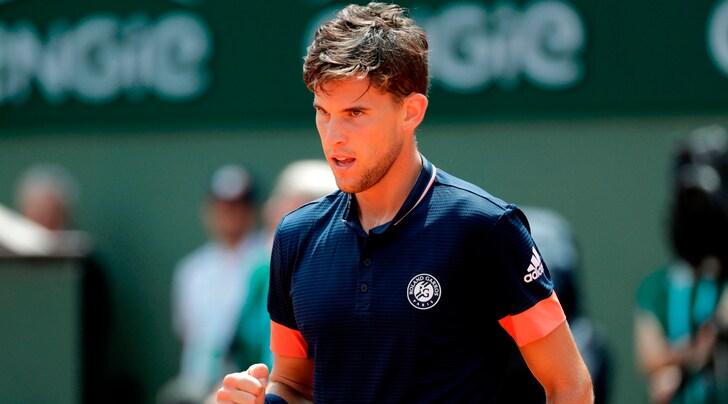 Roland Garros, Thiem-Zverev ai quarti di finale