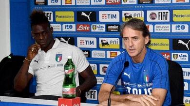 Italia, Mancini: «Olanda? Balotelli fuori, cambieremo ancora»