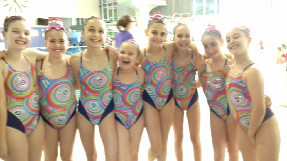 Le ragazze della  Asd Rari Nantes Gerbido sugli scudi al campionato nazionale Uisp di Bolzano