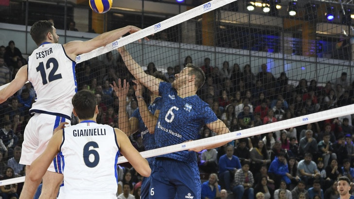 Volley: Volleyball Nations League, per l'Italia brutto ko con l'Argentina