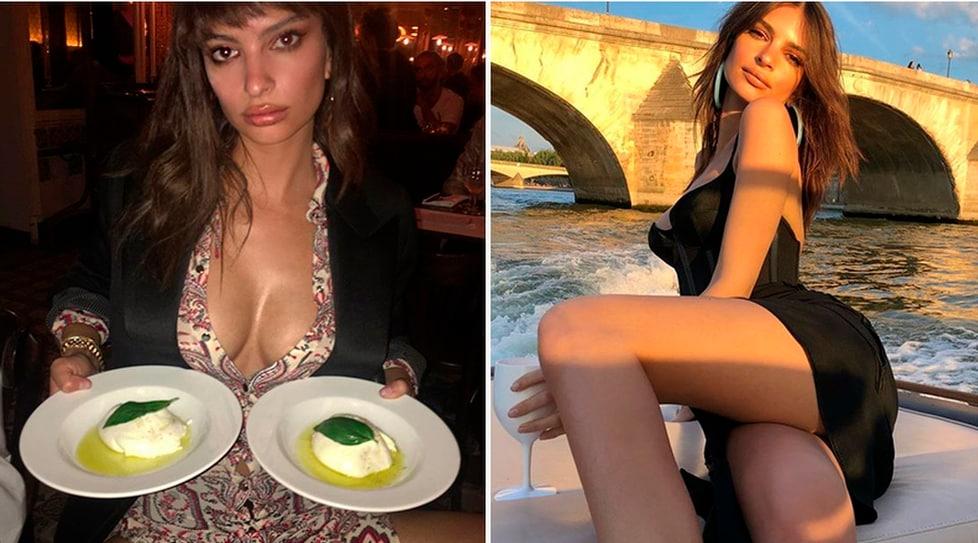 La modella, tifosa della Juventus, fa impazzire i fan sui social