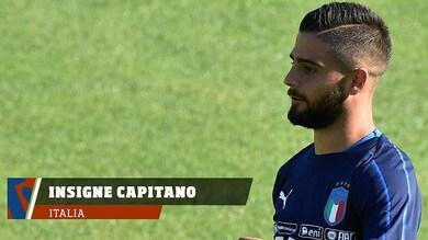 Italia-Olanda, prima da capitano per Insigne