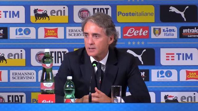 """Mancini: """"Mi sono girate, meritavamo di vincere"""""""