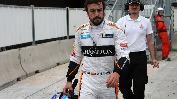 F1 McLaren, Alonso: «Non vedo l'ora di partire per il Canada»