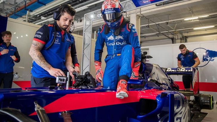 MotoGp Honda, Marquez in pista per provare una F1