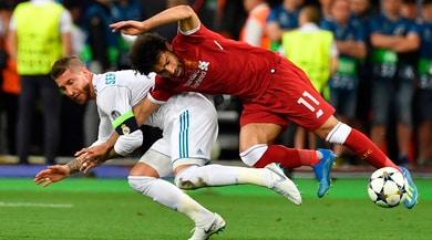 Sergio Ramos shock:«Il fallo era di Salah. E con un'infiltrazione poteva restare in campo...»