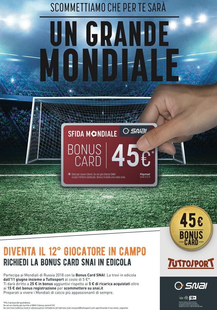 Bonus Card SNAI
