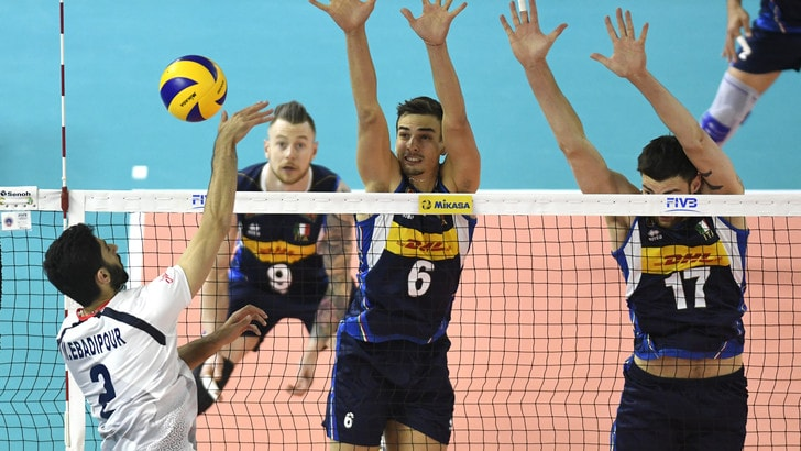 Volley: Volleyball Nations League, l'Italia ad Osaka per il terzo week end