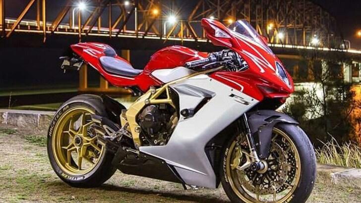 Moto2, tornerà l'MV Agusta dal prossimo anno
