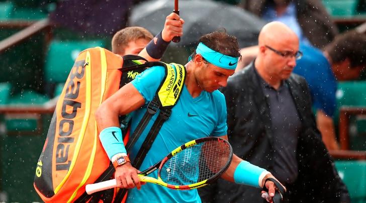 Pioggia sul Roland Garros: rinviati i due ultimi quarti maschili