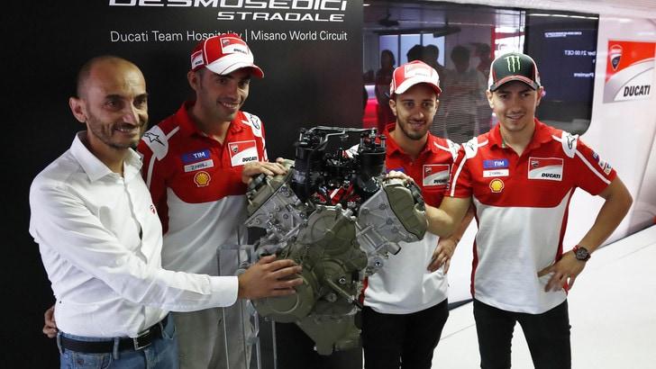 MotoGp Ducati, Domenicali: «Abbiamo mostrato delle prestazioni straordinarie»