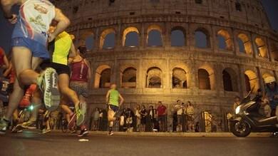Solidarietà e tanti stranieri per la Mezza Maratona di Roma in notturna