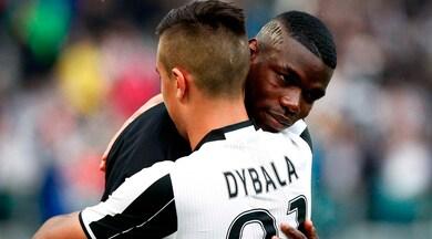 """Juve, Dybala: """"Sogno di giocare di nuovo con Pogba"""""""