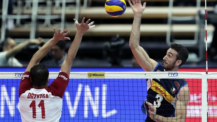 Volley: Volleyball Nations League, per gli azzurri tie break fatale contro la Polonia