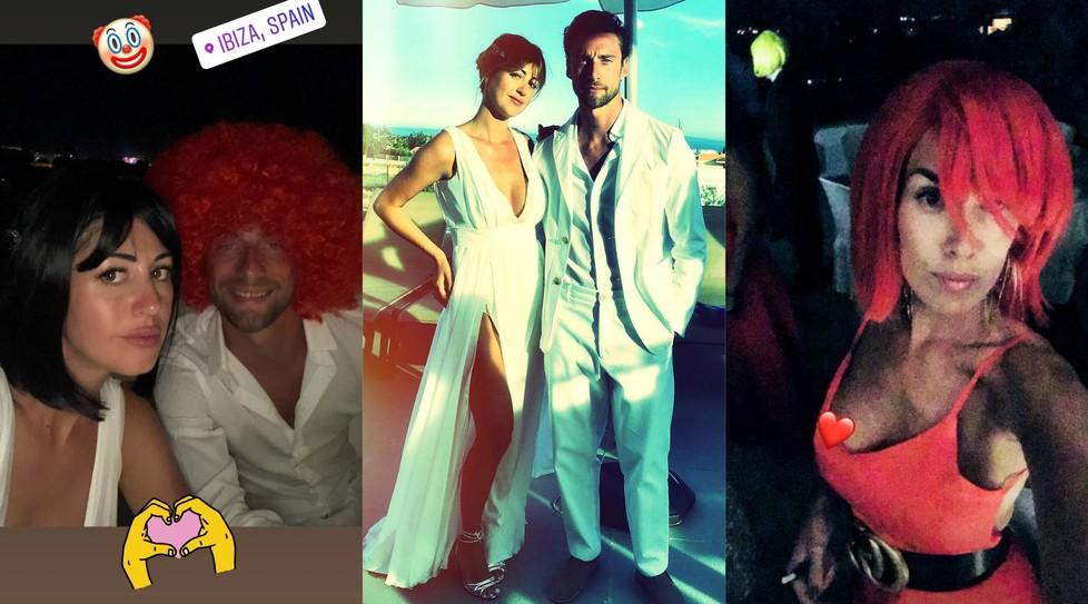 """Il """"Principino"""" e la moglie Roberta stanno celebrando in Spagna il 10° anniversario di matrimonio"""