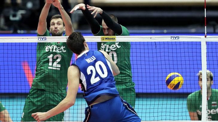 Volley: Volleyball Nations League, l'Italia torna al successo con la Bulgaria