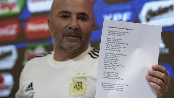Argentina, Sampaoli accusato di molestie sessuali