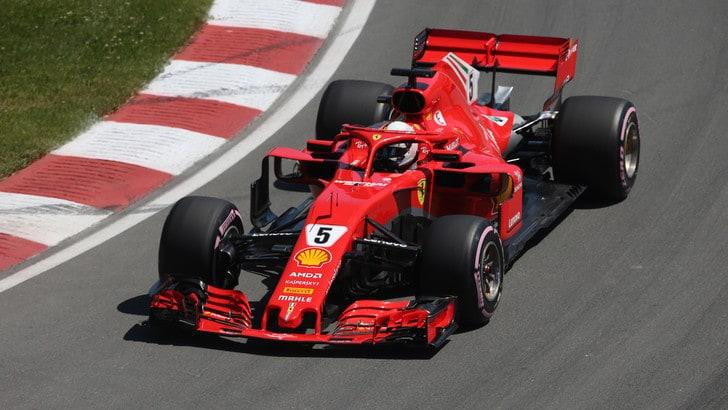 F1, griglia di partenza Gp Canada: Vettel in pole, Bottas 2°
