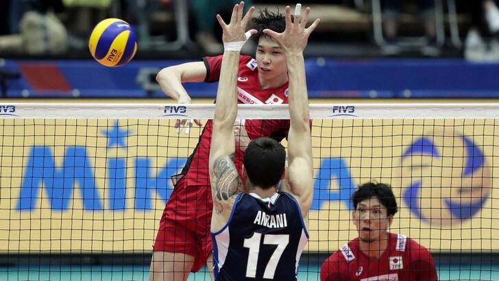 Volley: Volleyball Nations League, il Giappone frena le ambizioni dell'Italia