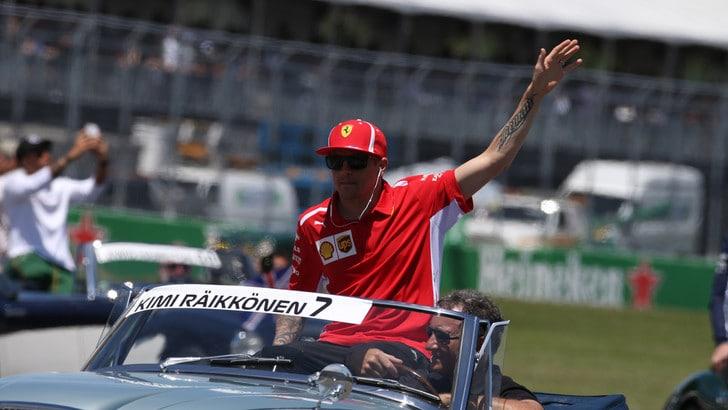 F1 Canada, Raikkonen: «La gara è stata noiosa e non è successo granché»