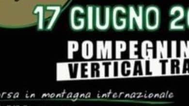 Appuntamento con Filippo BIanchi per provare il percorso del Pompegnino Vertical Trail.