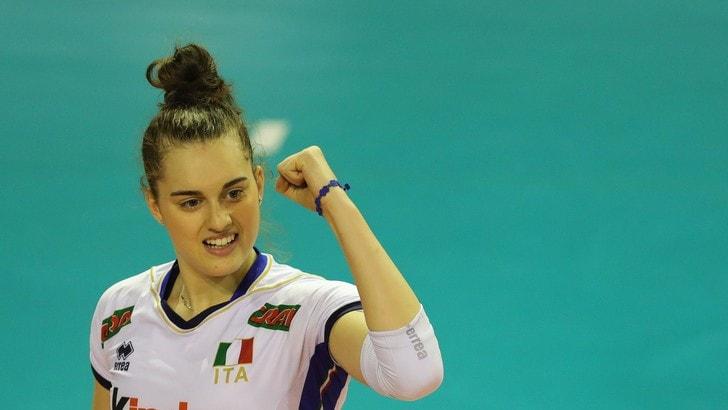 Volley: A1 Femminile, Alessia Populini giocherà nel Club Italia