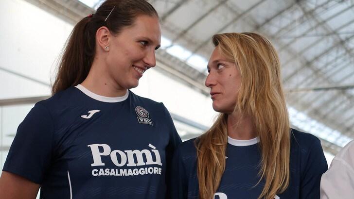 Volley: A1 Femminile, Arrighetti e Rahimova hanno salutato i tifosi di Casalmaggiore