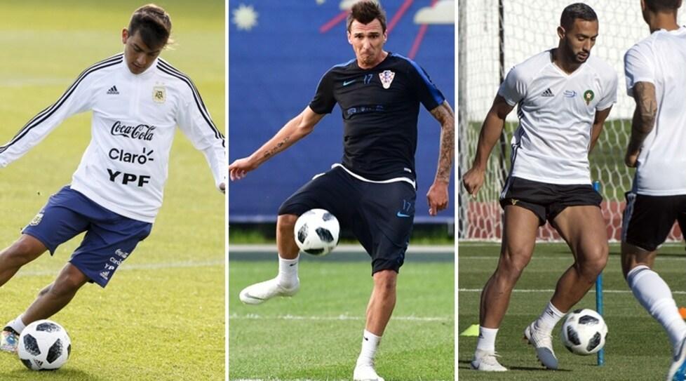 Ecco i giocatori della Juventus che si allenano in Russia