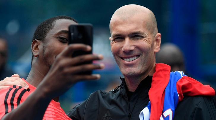 Zidane, futuro in stand-by: «Sto riposando, non so cosa farò»