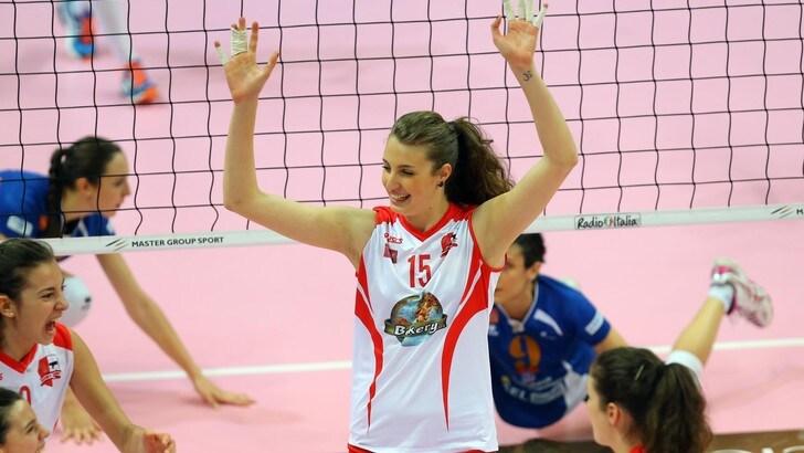 Volley: A2 Femminile, Conegliano prende la centrale Gaia Moretto