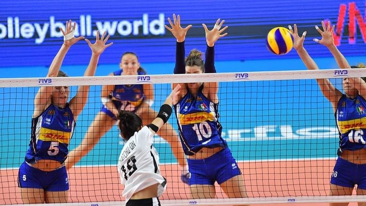 Volley: Volleyball Nations League, vittoria facile facile per le azzurre contro la Thailandia