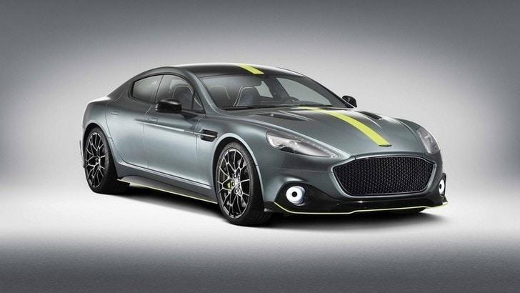 Aston Martin Rapide AMR: più cavalli, stessa classe