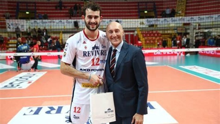 Volley: Superlega, Galassi è il terzo centrale di Perugia
