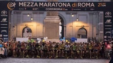 Mezza Maratona di Roma, ospite d'onore Giorgio Calcaterra.