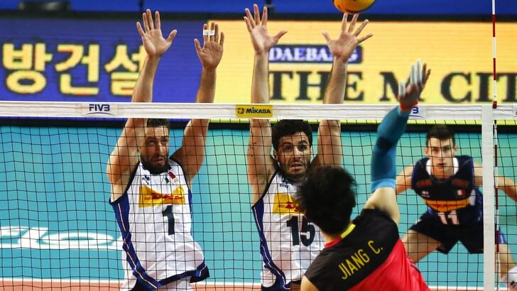 Volley: Volleyball Nations League, l'Italia doma la Cina di Lozano
