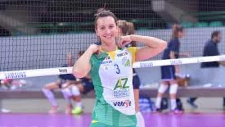 Volley: A2 Femminile, Beatrice Valpiani da Orvieto a Mondovì