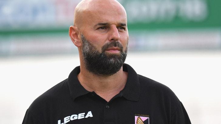 Serie B play off: Palermo, Stellone: «Fondamentale mantenere l'equilibrio contro il Frosinone»