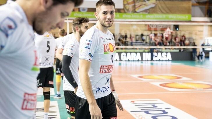 Volley: Superlega, a Siena arriva il centrale Andrea Mattei