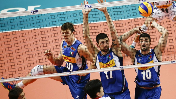 Volley: Volleyball Nations League, gli azzurri soffrono ma domano la Corea